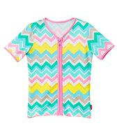 Seafolly Girls' Go-Go Girl Zip Front Rashie (6mos-7yrs)