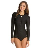 next-good-karma-solid-malibu-zip-ls-one-piece-swimsuit