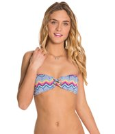 Roxy Swimwear Bohmeian Sunrise Bandeau Bikini Top