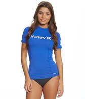 Hurley One & Only Solid S/S Rashguard
