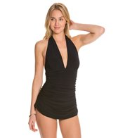 Magicsuit by Miraclesuit Shirred Solid Yvonne One Piece Swimsuit