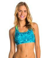 New Balance Women's The Shapely Shaper Print Bra