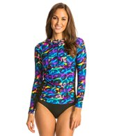 illusions-activewear-ruched-camo-glow-rash-guard