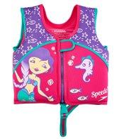 Speedo Girls' Learn To Swim Printed Neoprene Swim Vest (2yrs-6yrs)
