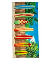 Dohler Surf Board Beach Towel 30 x 60