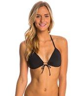Eidon Swimwear Solid Summer Triangle Bikini Top
