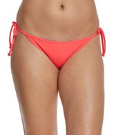 Eidon Swimwear Solid Tiki Tie Side Bikini Bottom