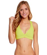 Roxy Swimwear Optic Nature Binded Tiki Triangle Bikini Top