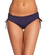 Anne Cole Color Blast Solid Adjustable Side Hipster Bikini Bottom