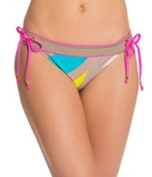 Trina Turk The New Pop Wave Banded Hipster Bikini Bottom