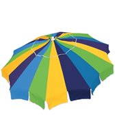 Rio Brands 7' 20 Panel Integrated Sand Anchor Umbrella