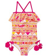 Raisins Girls' Sun Is Shining San Diego Flutter One Piece (7yrs-16yrs)
