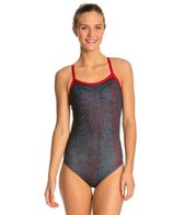 HARDCORESPORT Women's Textbook Cali Back One Piece Swimsuit