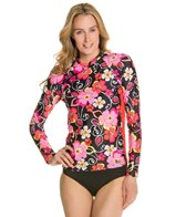 EQ Swimwear Seville Rose Long Sleeve Rashguard