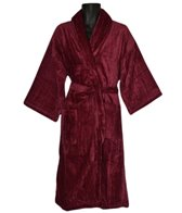 Royal Comfort 48 Bath Robe Terry Velour Shawl