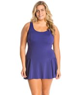 Sporti Plus Size Swim Dress