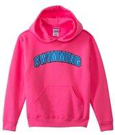 Image Sport Swimming Collegiate Hooded Youth Sweatshirt