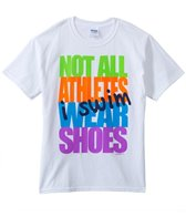 Image Sport Not All Athletes Wear Shoes Youth T-Shirt