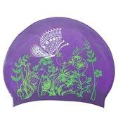 sporti-butterfly-meadow-long-hair-silicone-swim-cap