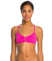 Speedo Turnz Solid Fixed Back Swimsuit Top