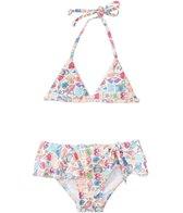 Seafolly Girls' Seaside Lane Bikini Set (1yr-6yrs)