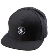 Volcom Men's Quarter Twill Snapback Hat