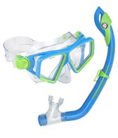 U.S. Divers Jr. Lanai LX Mask and Paradise Dry Snorkel Set