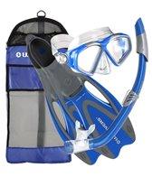 us-divers-cozumel-mask-seabreeze-snorkel-proflex-fins-gear-bag-set