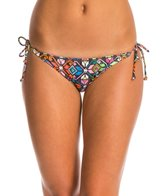 Motel La Boheme Sherbet Tie Side Bikini Bottom