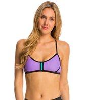 Speedo Women's Laser Cut Sporty Bikini Top