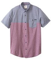 Rusty Men's Rattler Short Sleeve Shirt