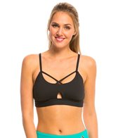 Trina Turk Solid Sports Bra