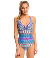 Prana Women's Aquabloom Inez One Piece Swimsuit
