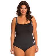 TYR Sonoma Square Neck Controlfit Plus Size One Piece Swimsuit