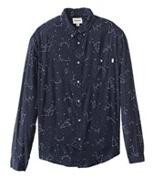 Rhythm Men's Starry Night Long Sleeve Shirt