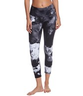 Alo Yoga Printed High Waisted Airbrush Yoga Capris