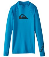 Quiksilver Boy's All Time Long Sleeve Rash Guard