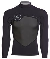 Quiksilver Men's 1.5mm Syncro Long Sleeve Mesh Wetsuit Jacket