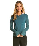 Mizuno Women's Breath Thermo Seamless Half Zip