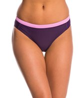 Champion Women's Solid Shape Up Spliced Hipster Bikini Bottom