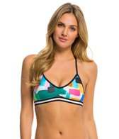Anne Cole Women's Snow Cone Sports Bra Bikini Top