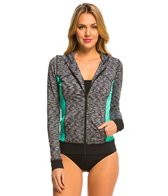 anne-cole-womens-heather-colorblock-elastic-ls-hoodie-jacket