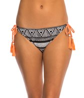 Roxy Swimwear Native Geo Tie Side Surfer Bikini Bottom