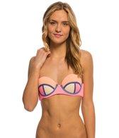 Maaji Swimwear Flamingo Timbers Bandeau Bikini Top