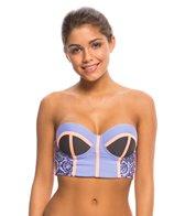 Maaji Swimwear Lavender Timbers Bustier Bikini Top