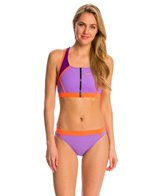Speedo Perforated Two Piece Set