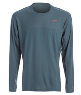 Mizuno Men's Breath Thermo Body Mapping LS Shirt
