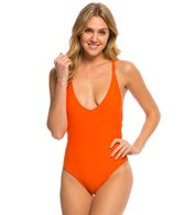 Volcom Swimwear Simply Solid One Piece Swimsuit