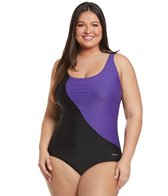 sporti-plus-size-conservative-colorblock-one-piece-swimsuit