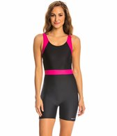 Sporti Unitard Colorblock One Piece Swimsuit